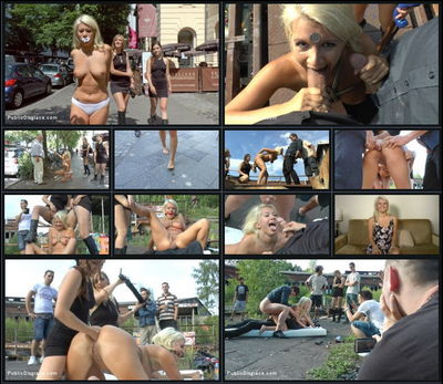 Public Disgrace - Dec 18, 2015 - Juliette March, Layla Pryce, Mona Wales and Jason Steel