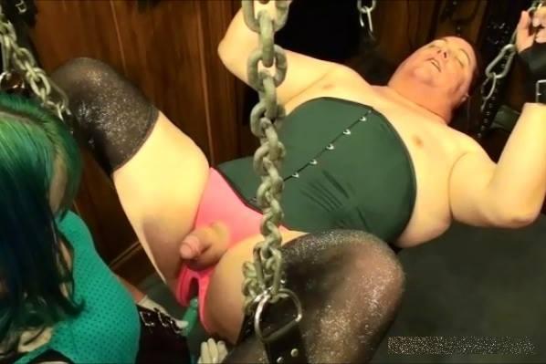 AliceInBondageLand - Mistress Alice - Virgin Sissy Strap-On Seduction