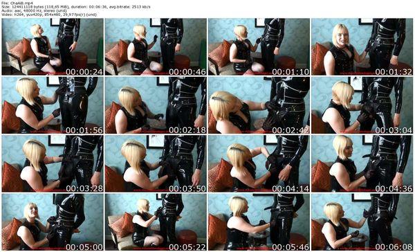 AliceInBondageLand - Chastity Fashion Show - Mr S Leather Belt