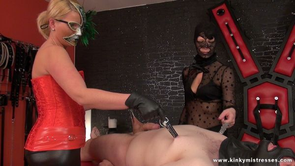 KinkyMistresses - Lady Juliette - Punished On The Bench