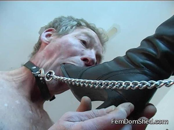 FemdomShed - Bratty Princess - These boots are made for licking