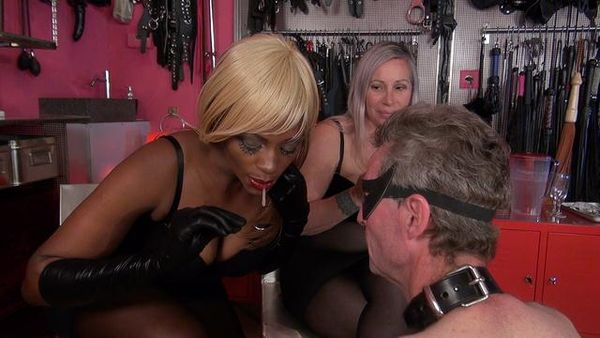 KinkyMistresses - Mistresses Ava Black, Shane - The Spitting Cocktail