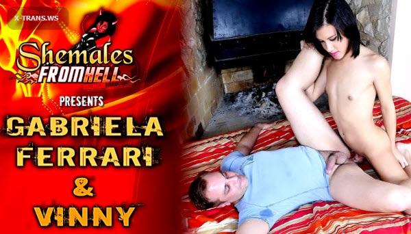 ShemalesFromHell: Gabriela Ferrari, Vinny