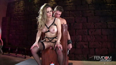 Femdom Empire - Cum Controlled Sex Slave Rachel Rox
