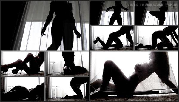 Divine Goddess Jessica - Sensual Silhouette Tease - Glamour Nude
