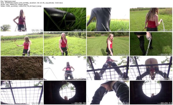 TheEnglishMansion - Mistress Sidonia - Taken To The Pit complete