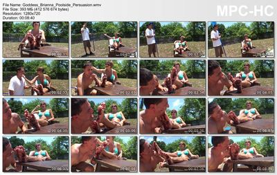 Goddess Foot Domination - Poolside Persuasion Goddess Brianna