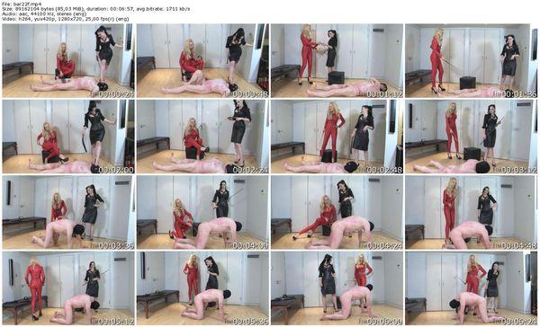FemmeFataleFilms - Lady Sophia Black, Mistress Eleise de Lacy - Barefaced Feet part 1-4 update