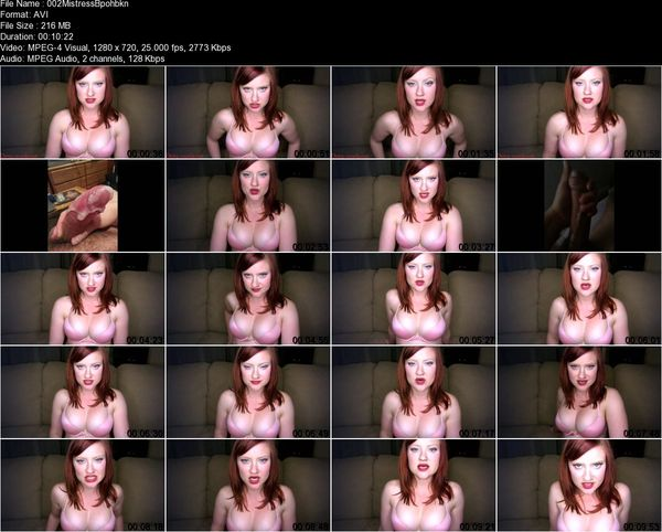 Mistress B - Brainwashing Mantra: You Want Dick