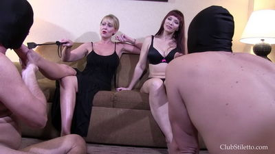 Clubstiletto - Miss Jessica, Mistress Kandy - Surviving On Sweat