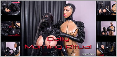 Fetish Live - Dante Posh, Valentina Fetish Doll - Daily Morning Ritual