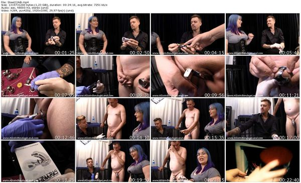 AliceInBondageLand - Chastity Fashion Show - Steelwerks Extreme - Inventor Interview Part 2
