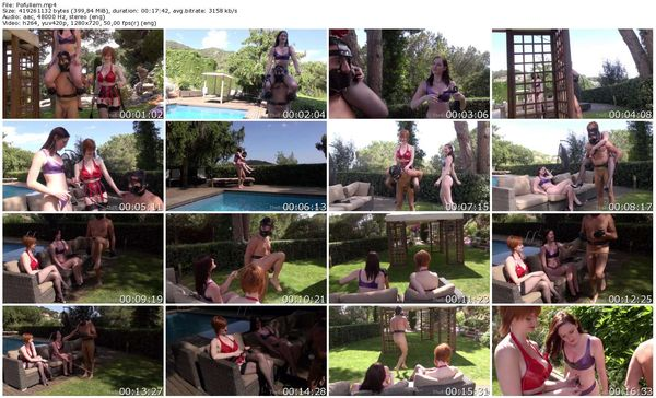 TheEnglishMansion - Miss Vivienne lAmour, Switch Zara - Poolside Riding complete