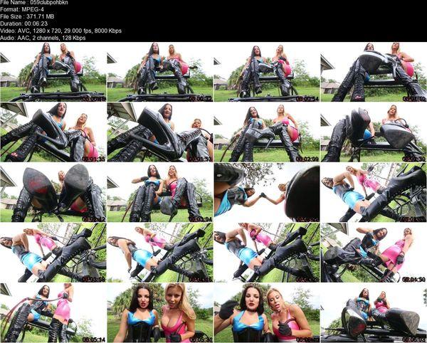 Michelle Lacy, Alexis Fawx - Boot Sluts Jerk Off