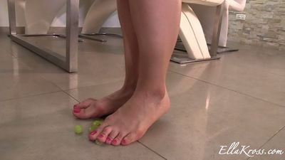 Ella Kross - Punishing My Slave with Grapes, Wine, Feet, and Spit!