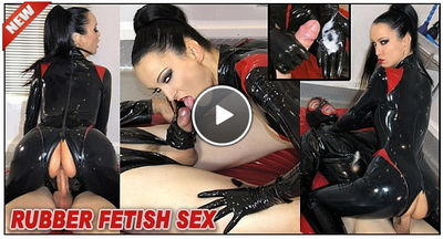 The English Mansion - Fetish Liza - Rubber Fetish Sex