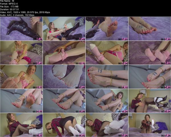 Humiliatrix - Princess Missy Rhodes - Beg to Worship Princess Missy's Pretty Feet While You Can, Loser