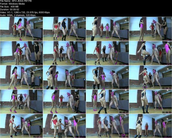 BratPrincess - Jennifer, Kendall, Sara - Play Break the Piggys Balls
