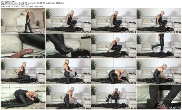 FemmeFataleFilms - Mistress Heather - Mummified Pet Slave part 1