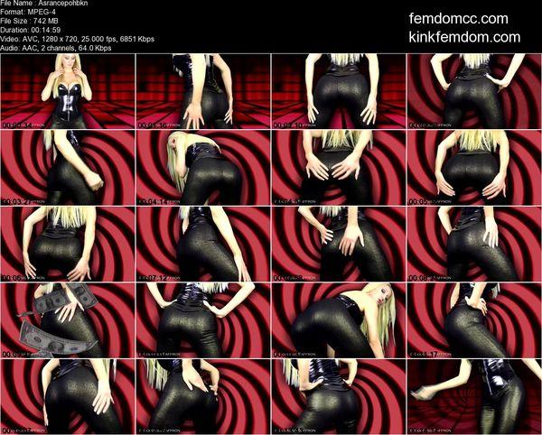 Goddess Saffron - HypnoSub - Ass Trance