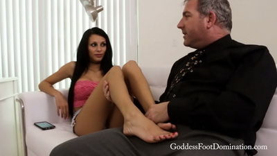 Goddess Foot Domination - Goddess Mercy - Meeting Her Probation Officer