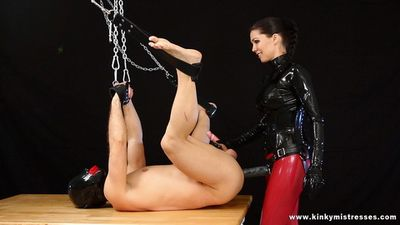 Kinky Mistresses - Mistress Susi - The Anal Slut On The Table