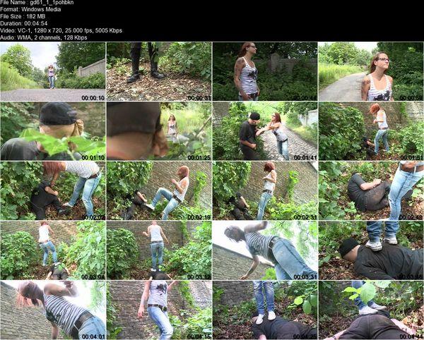 Schlagendegirls - Mira - Punishment for disturbing public order  Part 1-5