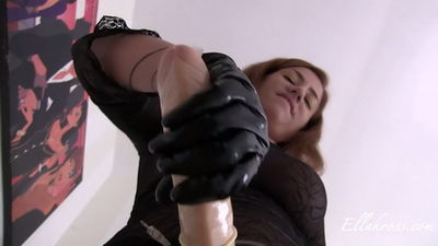 Ella Kross - Ramming a Slave's Ass with My Massive Strap-On Cock!