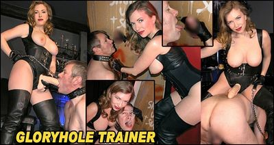 The English Mansion - Mistress T - Gloryhole Trainer