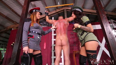 Clubdom - Caught by the Guardesses Part 1: Whipping