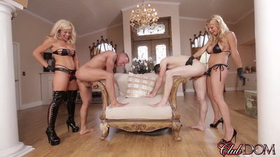 Clubdom - Sex Slave For Blondes Part 5: Strap-on