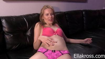 Ella Kross - Jerk-Off to Mistress Kate's Sexy Belly!