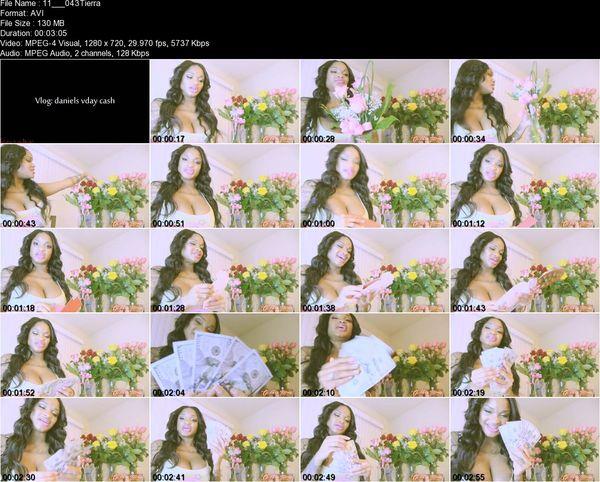 Goddess Tierra - Vlog: daniels vday cash