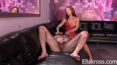Ella Kross - Punish Him By Making Him Eat His Own Cum!