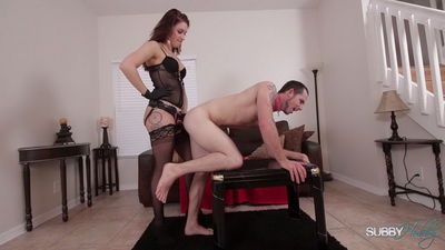 Subby Hubby - College Sister Part 5: Strap-on