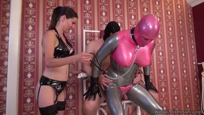 Kinky Mistresses - Mistress Susi - The Rubber Doll´s Anal Ride