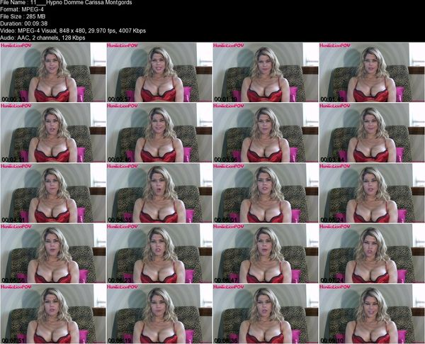 Hypno Domme Carissa Montgomery - Your Hand Responds To My Words