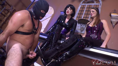 Clubdom – Boot Bitch for Jean and Paris