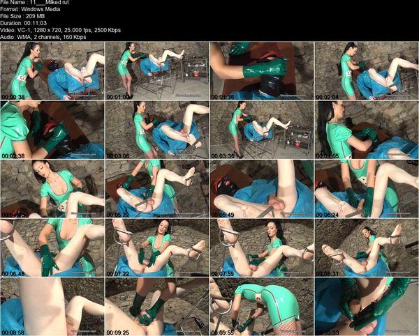 Glovemansion - Milked rubber addict