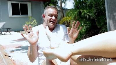 Goddess Foot Domination - Goddess Parker Swayze - Pool Repair Service