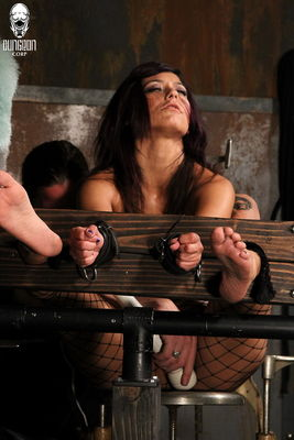 Tied For Tickling - Resisting the Urge - Reena Sky