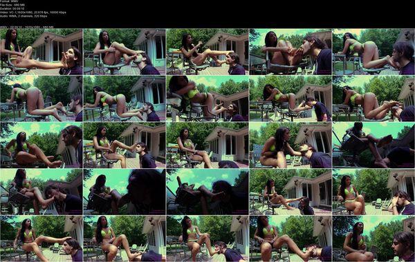 Taylor - Bratty Bikini Girl Foot Worship