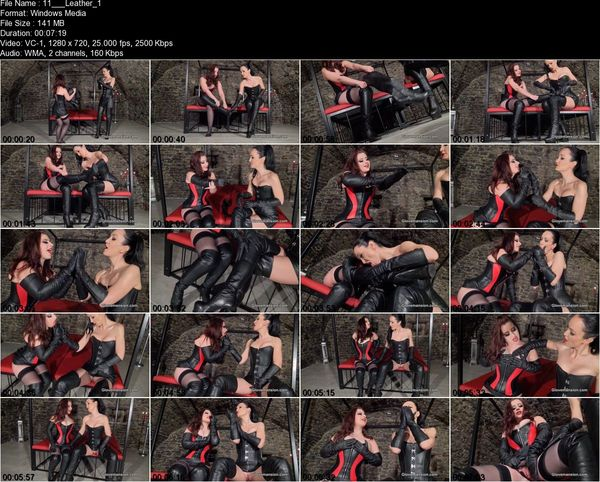 Glove Mansion - Lexie Candy - Leather loving girlfriends part 1