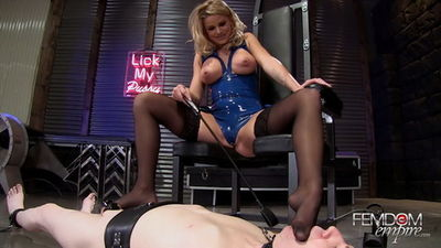 Femdom Empire - Jessa Rhodes - Foot Groveling Boy-Toy