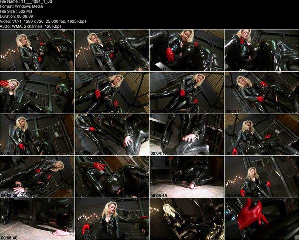 Schlagendegirls - Latex Lady Cynthia Part 1-6
