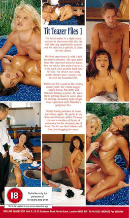 Tit teazer files 1 1998 german rare vintage movie 2