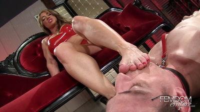 Femdom Empire - Muscle Goddess Foot Worship