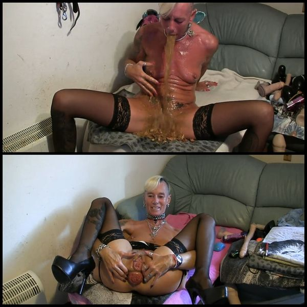 Lady-Isabell – 7 Scat, Puke and Prolaspe Clips