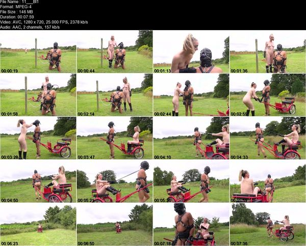 TheEnglishMansion - Mistress Sidonia - Blind Obedience Part 1-2