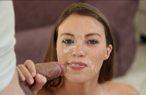 Her first extreme deepthroat gagging